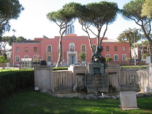 Sede dell'ex Opera Nazionale Combattenti, che oggi ospita il Museo della Terra Pontina