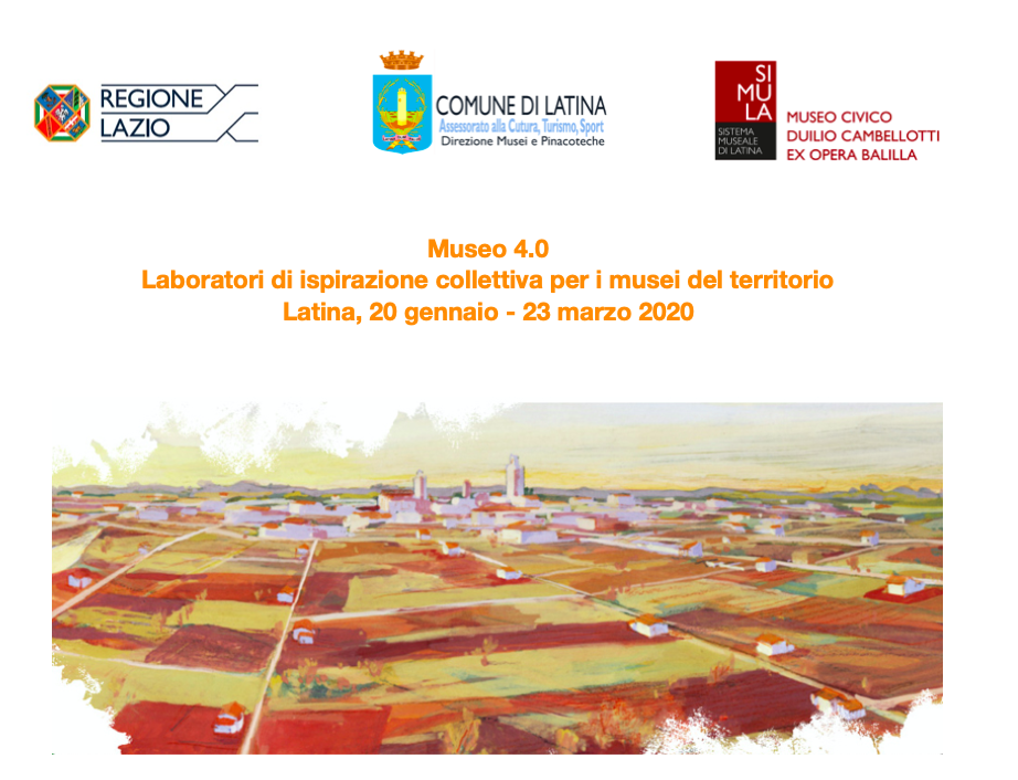 Cover corso di formazione Laboratori di ispirazione collettiva per i musei del territorio, I edizione (2020)