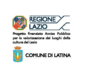 Loghi della Regione Lazio e del Comune di Latina