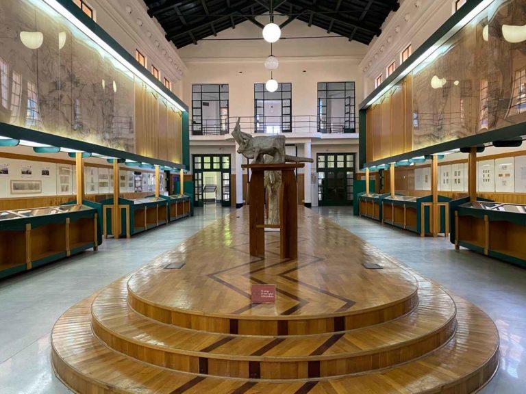 Sala centrale del Museo Duilio Cambellotti