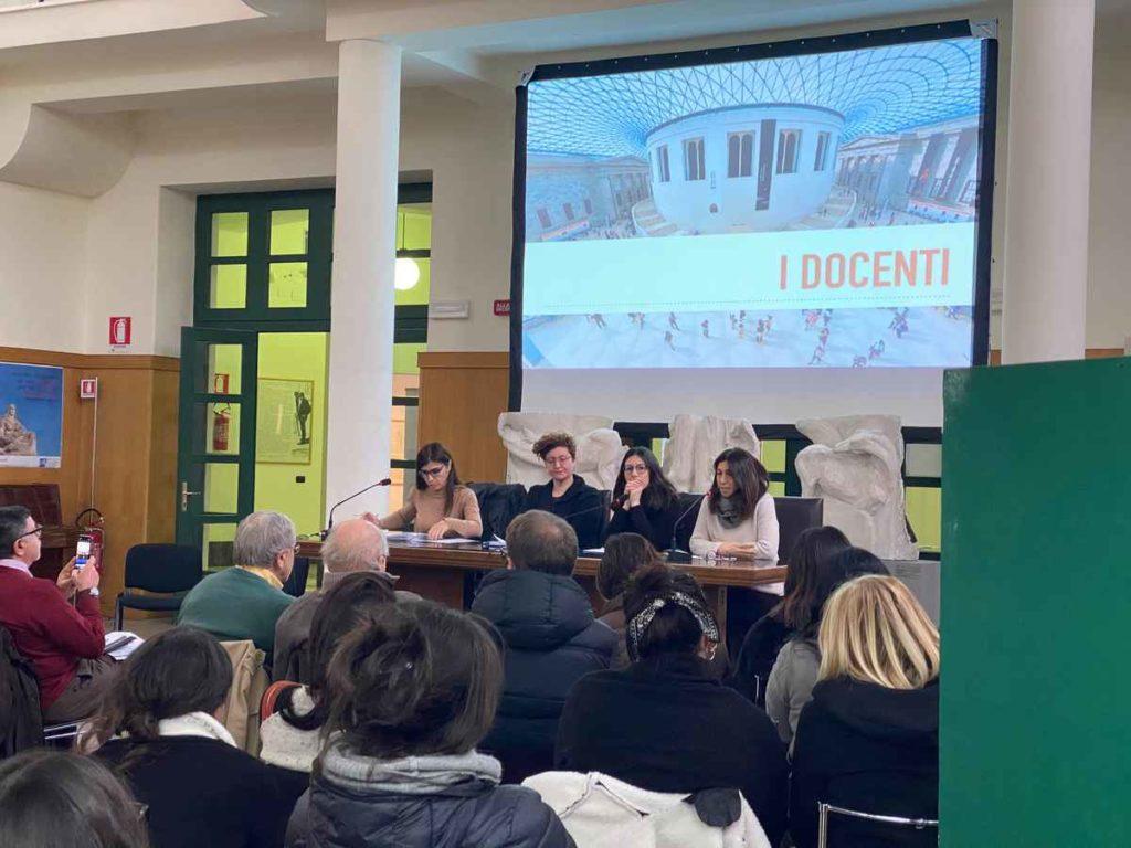 Presentazione dei docenti del corso di formazione Laboratori di ispirazione collettiva, presso il Museo Duilio Cambellotti