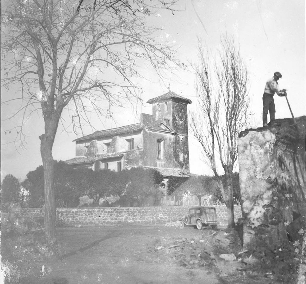 Foto d'epoca in uno dei borghi dell'area nord di Latina