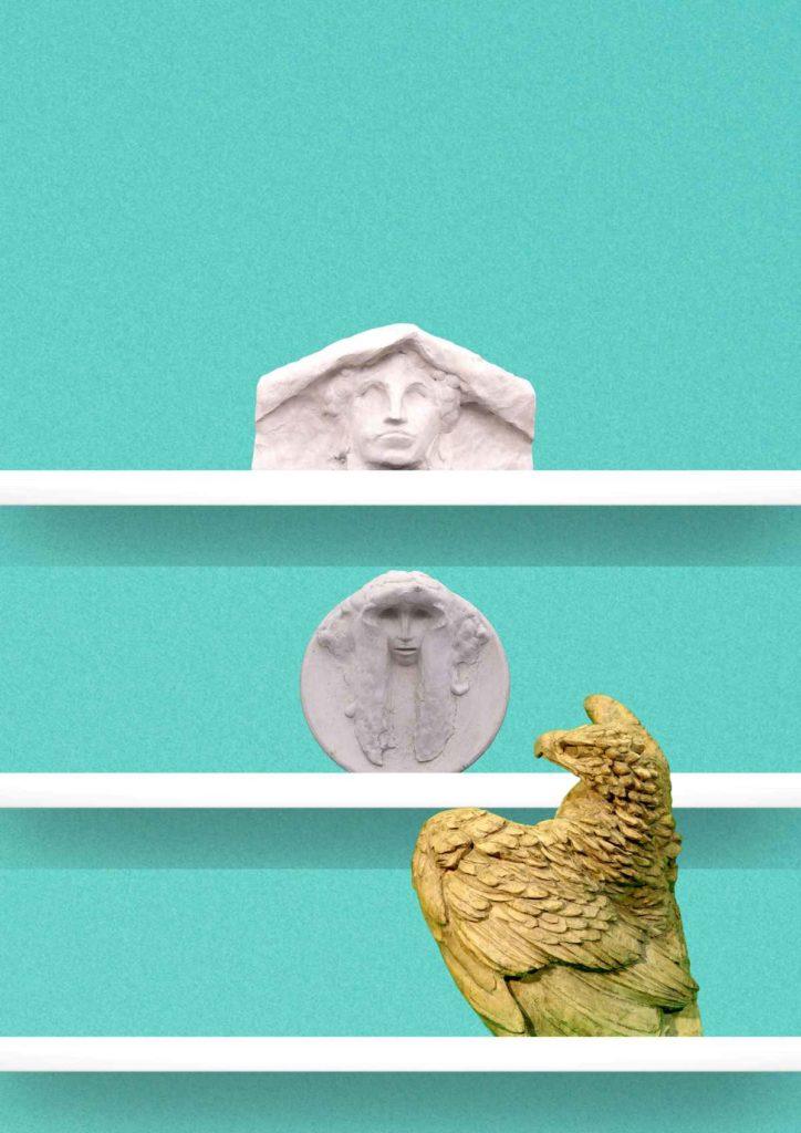 Opere d'arte di Cambellotti presenti presso le sale del Museo