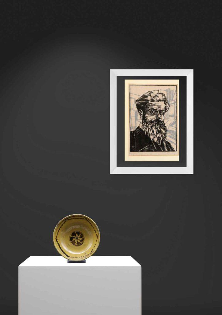 Opere d'arte presenti presso le sale del Museo Duilio Cambellotti