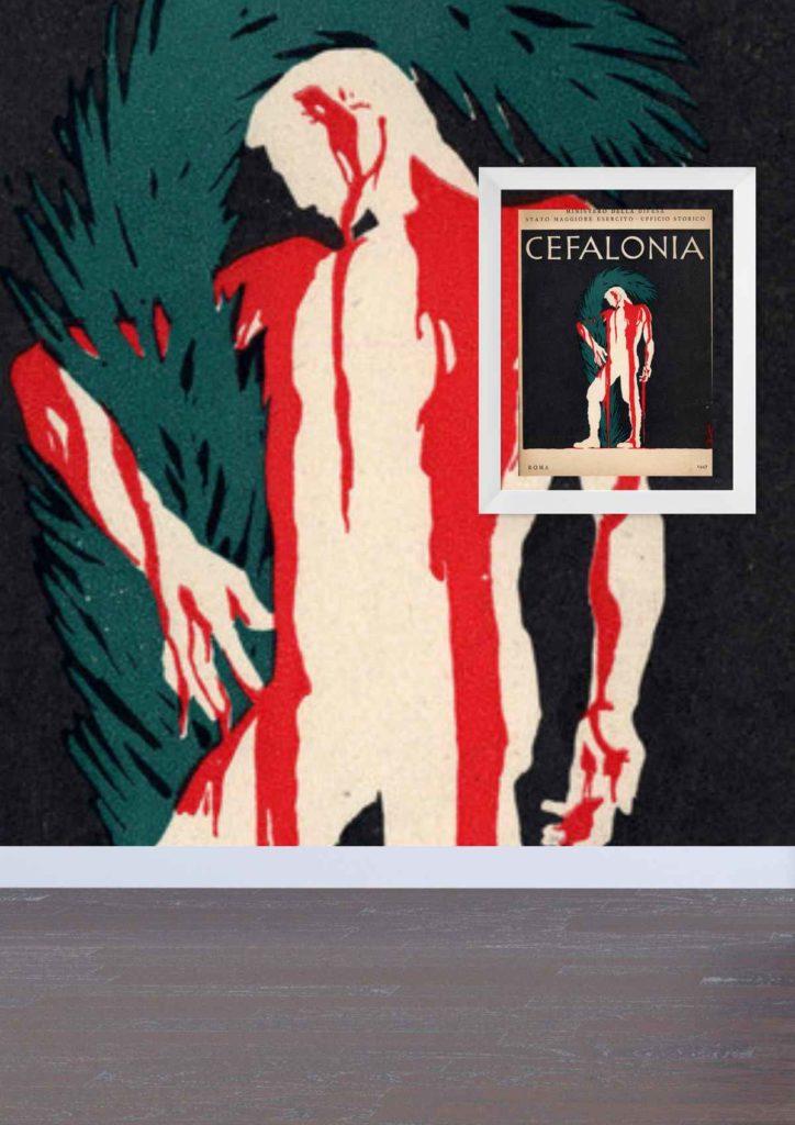 Opera grafica presente nella prima sala del Museo Cambellotti a Latina